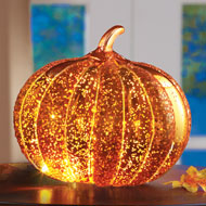 LED Light Up Decorative Pumpkin - 34985