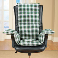 Plaid Cozy Chair Cushion - 35257