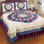 South Lake Floral Quilt - 35316