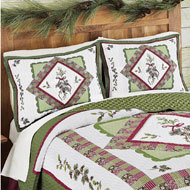 Woodland-inspired Pinecone Pillow Sham - 35445