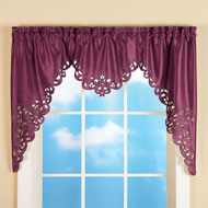 Elegant Scroll Window Valance - 35467