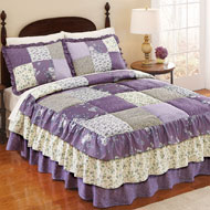 Melina Patchwork Quilted Bedspread - 35501
