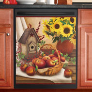 Country Apple Dishwasher Magnet - 35550