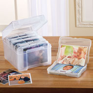 Photo Organizer Storage Box - 35553