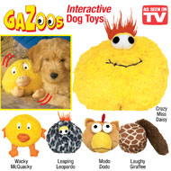 Gazoos Interactive Motion-activated Dog Toys - 35626
