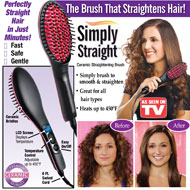 Simply Straight Hair Straightening Brush - 35628