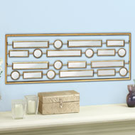 Rectangles Mirror Panel Wall Art