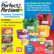 Perfect Portions™ Portion Control Containers - 35662