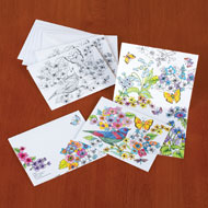Note Cards to Color - 20 pc - 35756