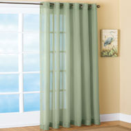 Sheer Patio Curtain Panel - 35991