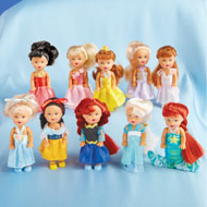 Little Princess Dolls - Set of 10 - 36230