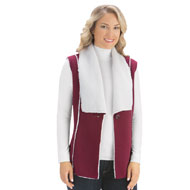 Polar Fleece Sherpa Lined Vest - 36252