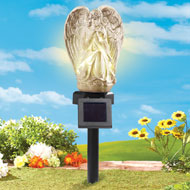Praying Angel Solar Garden Stake - 36491