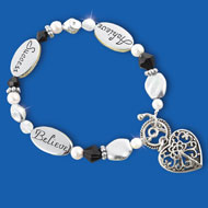 Achieve, Success, Believe Charm Bracelet - 36641