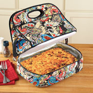 Quilted Paisley Casserole Carrier - 36704