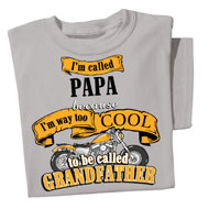 Way Too Cool Grandfather Novelty Tee - 36711