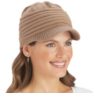 Ribbed Knit Winter Cap - 36748