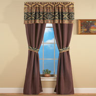 Southwestern Santa Fe Curtain Set - 36809