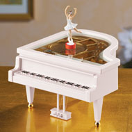 Classical Piano Ballerina Music Box - 36848