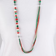 Interchangeable Beaded Necklace - 36850