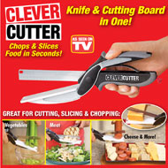 Clever Cutter 2-in-1 Knife and Cutting Board - 36897