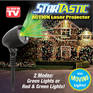 StarTastic Laser Projector - Moving Lights - 36904