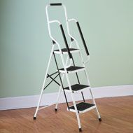 Four Step Safety Ladder with Grips - 36924