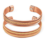 Copper Magnetic Therapuetic Bracelets - 36948