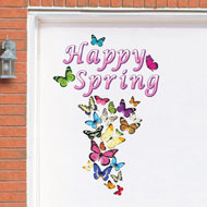 Happy Spring Butterfly Garage Door Magnets - 37165