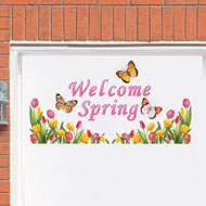 Tulip Welcome Spring Garage Door Magnets - 37168