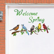 Welcome Spring Garage Door Magnets - 37170