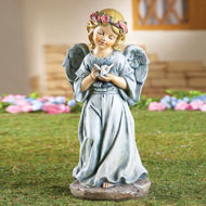 Sweet Angel Garden Figurine