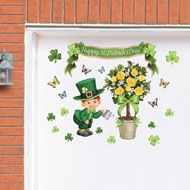 St. Patrick's Topiary Garage Door Magnets - 37445