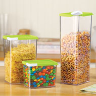 Stackable Easy Pour Containers - Set of 3 - 37516