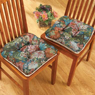 Floral Tapestry Chair Cushions - Set of 4 - 37550