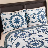 Samantha Patch Starburst Pillow Sham - 37588