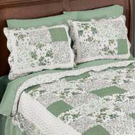 Hadley Floral Patchwork Pillow Sham - 37613
