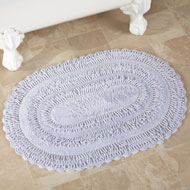 Reversible Tufted Chenille Bath Rug - 37642