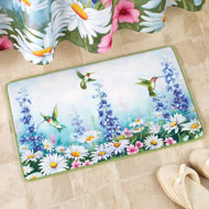 Garden Bliss Hummingbird Bath Mat - 37659