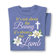 It's About the Lamb Easter Tee - 37676