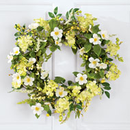 Irish Greenery Spring Wreath - 37696