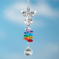 Angel Pendant Rainbow Suncatcher - 37854