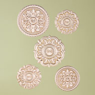 Ornate Pattern Wall Decals - Set of 5 - 37993