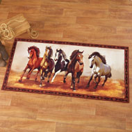 Western Galloping Horse Rug - 38398