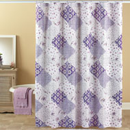 Wilmington Patchwork Shower Curtain - 38425