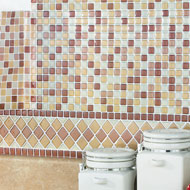 Miniature Backsplash Mini Tiles - Set of 6 - 38517