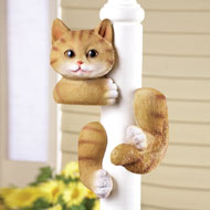 Kitty Tree Hugger Figurine - 38613