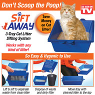 Sift Away Cat Litter Box Cleaning System - 38675