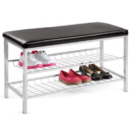 2-Tier Shoe Rack with Bench - 38704