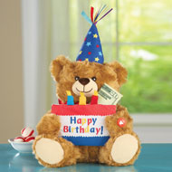 Musical Happy Birthday Plush Bear - 38781